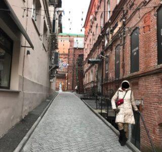 【旅エッセイ】冬のウラジオストク 〜 ウラジオのキャットストリート・グム裏