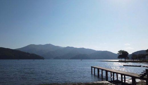 【旅エッセイ】信州しなの町 ~夜の湖